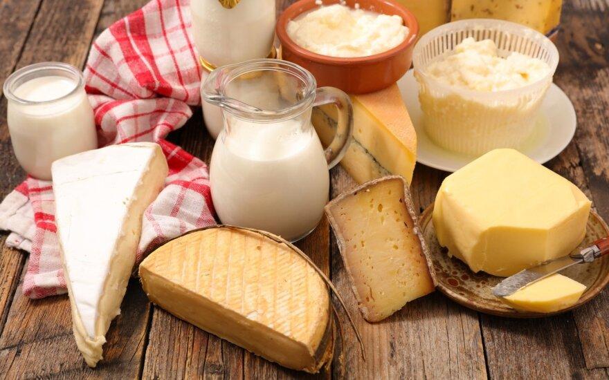 Rusija įvedė laikiną draudimą kai kurių baltarusiškų pieno produktų importui