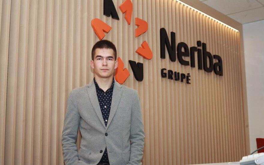 Septyniolikmetis Erikas savo verslo idėją vysto nuo trylikos