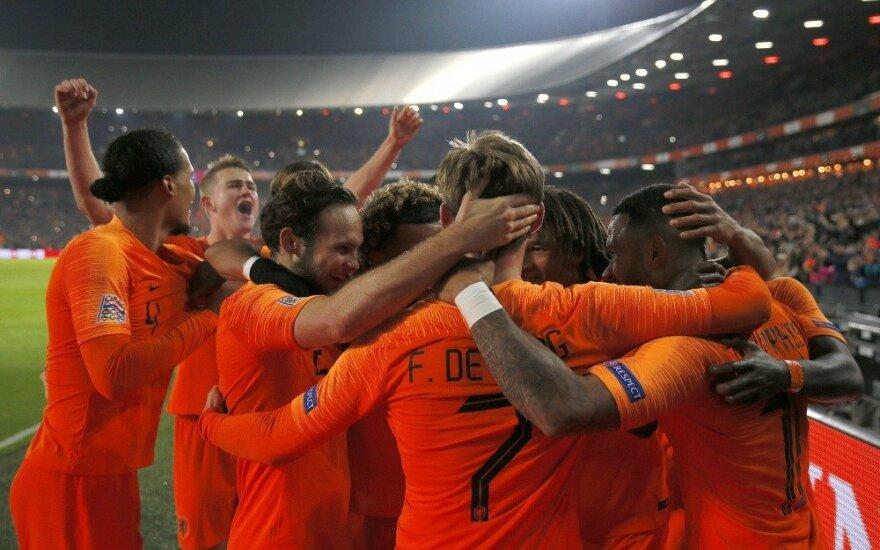 Olandai patiesė pasaulio čempionę Prancūziją