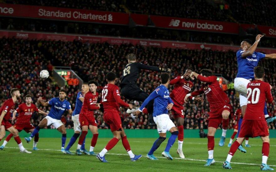 """""""Everton"""" sieks nutraukti 10 metų prakeiksmą derbyje prieš """"Liverpool"""""""