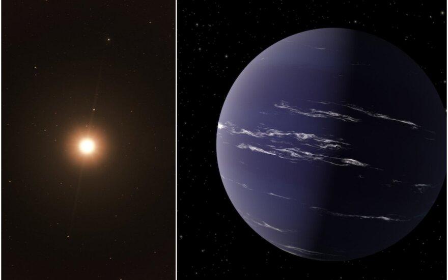 NASA mokslininkai aptiko į Žemę panašią planetą už 90 šviesmečių nuo mūsų.