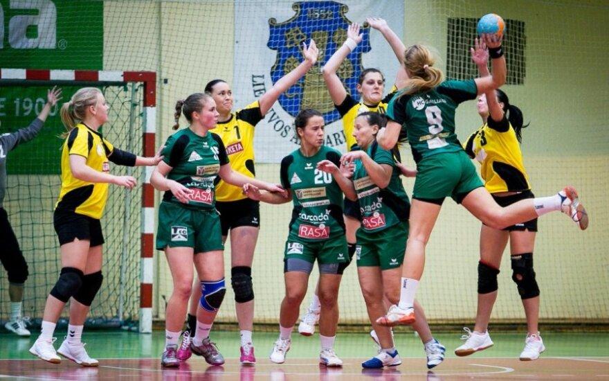 Lietuvos moterų rankinio čempionate – kauniečių triumfas