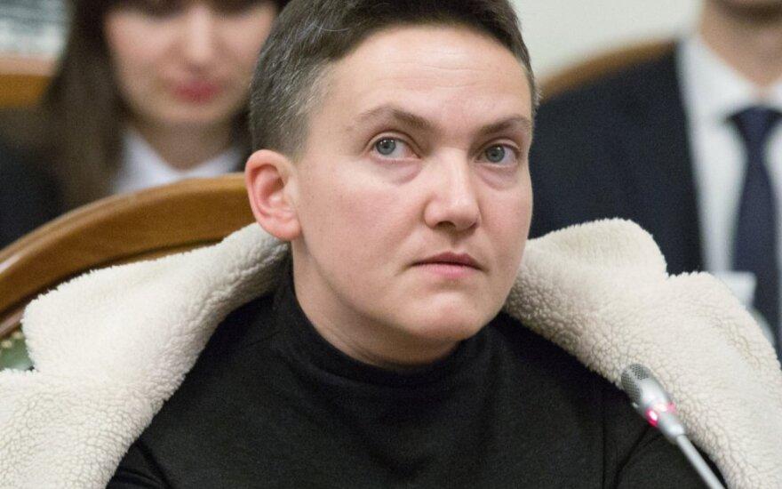 Ukraina: Savčenko trims dienoms nutraukia bado streiką