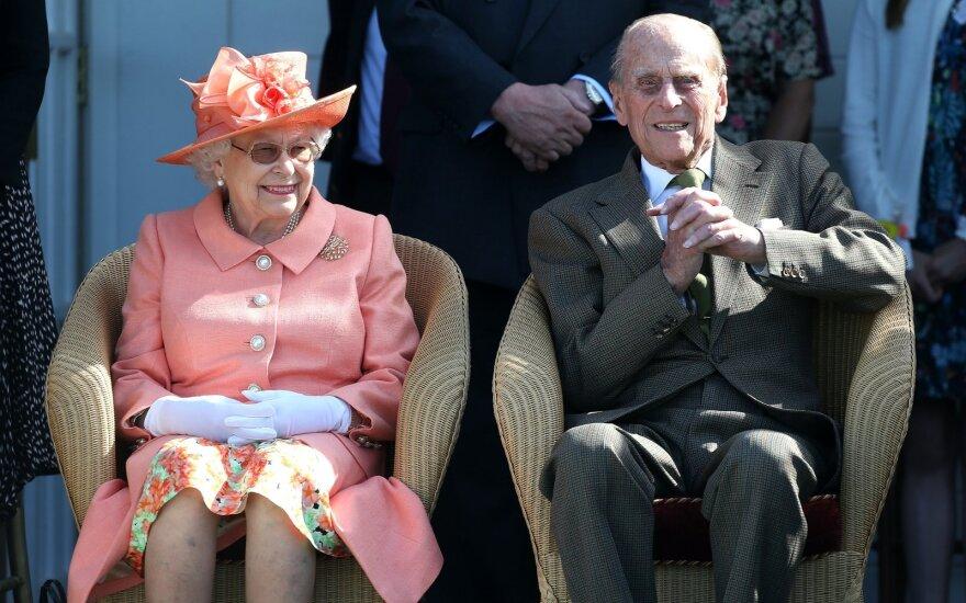 Elžbieta II ir princas Philipas