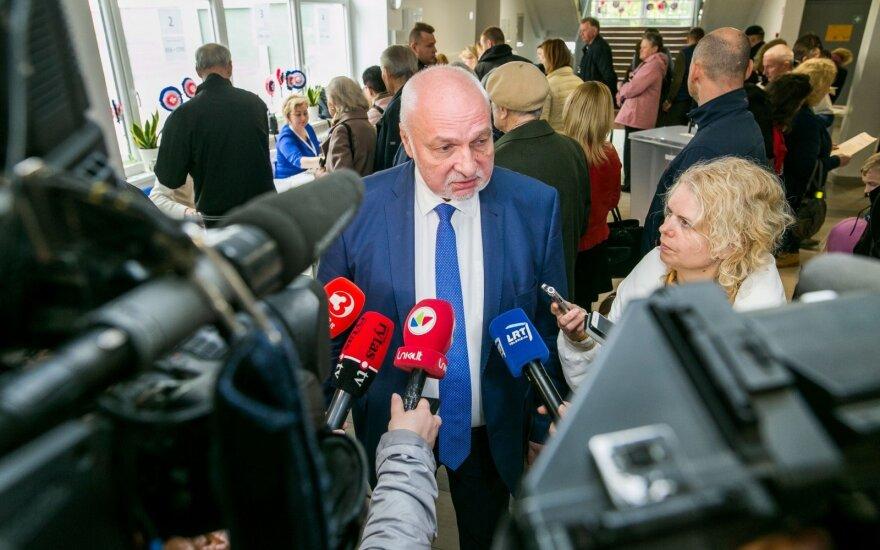 Mazuronis: kai kurių kandidatų veiksmai priminė šiek tiek pigoką politinį šou