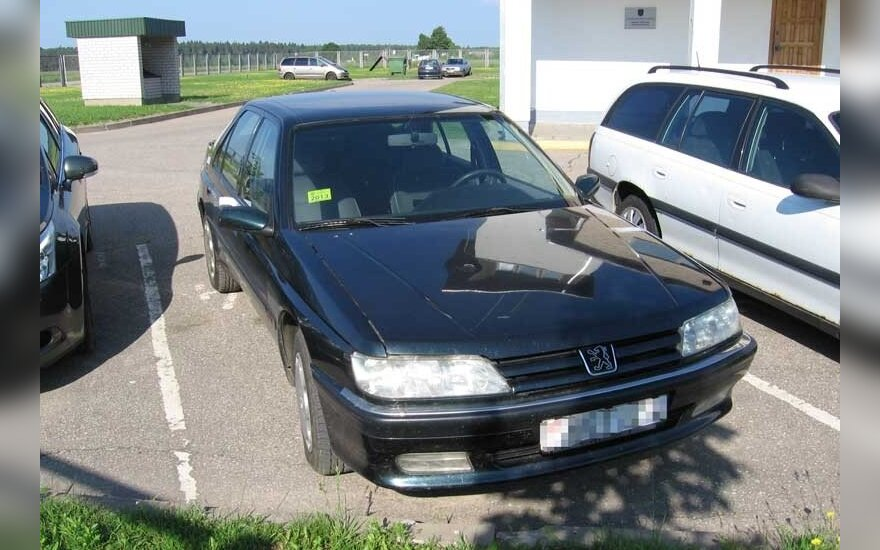 Sulaikytas automobilis-dvynys