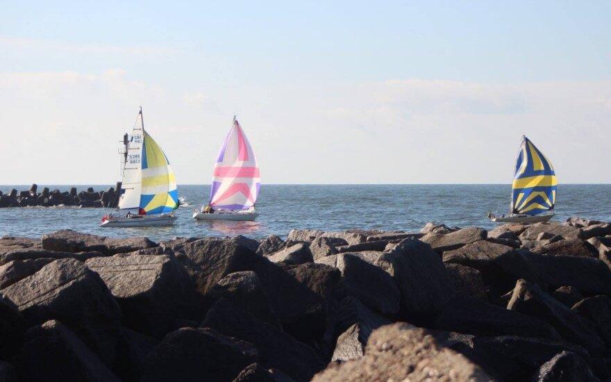 Buriavimo rudens regata Baltijos jūroje