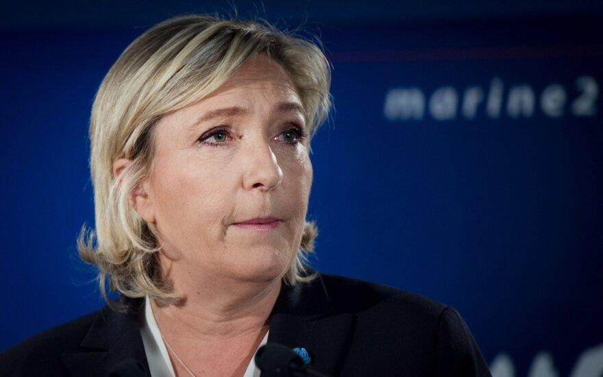 M. Le Pen nemato Rusijos grėsmės