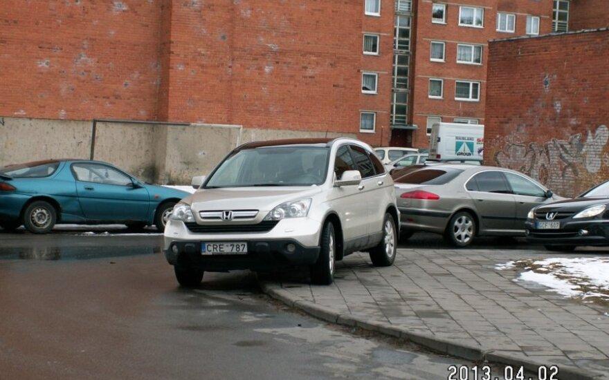 Klaipėdoje, Nidos g. 2013-04-03