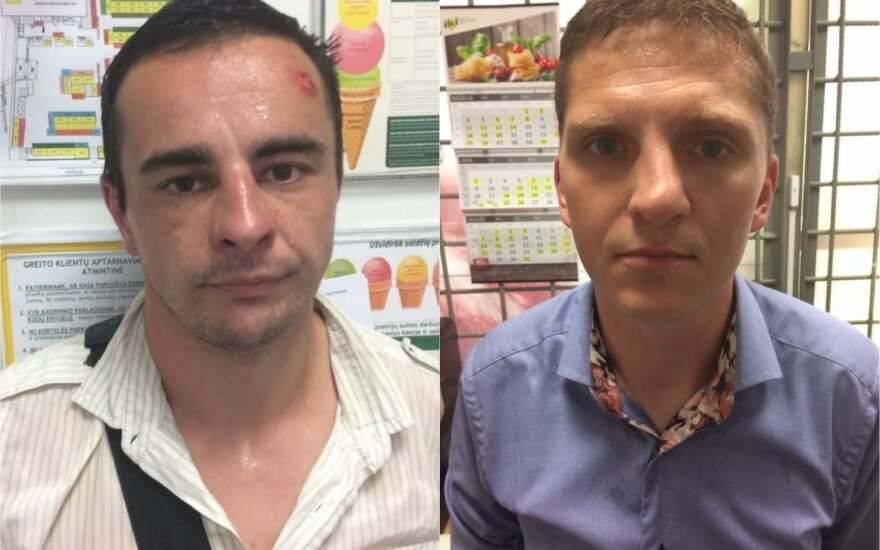 Protu nepasižymintys narkomanai apvogė parduotuvę vidury dienos