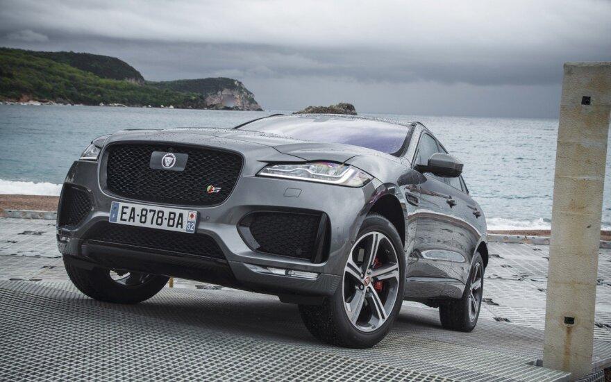 """Elektromobilis bus šiek tiek mažesnis už """"Jaguar F-Pace"""""""