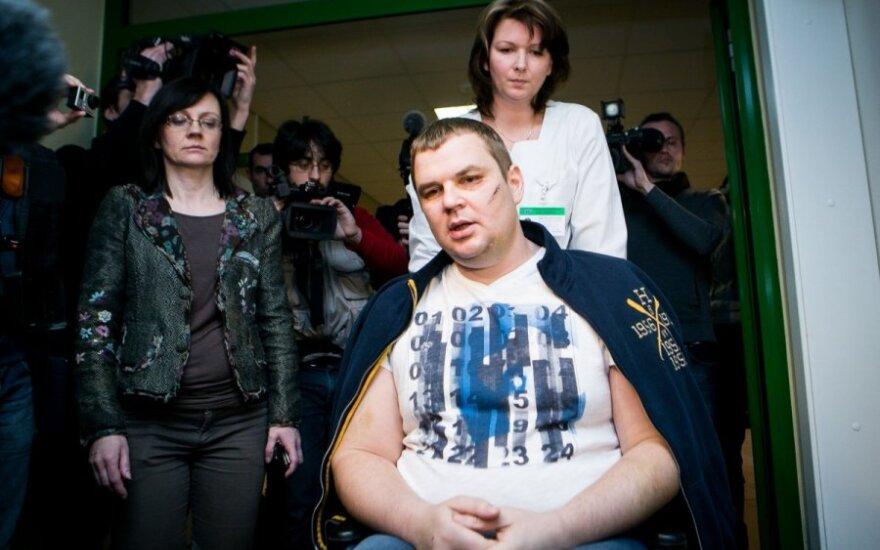 Ukrainos kankinys D. Bulatovas palieka Lietuvą