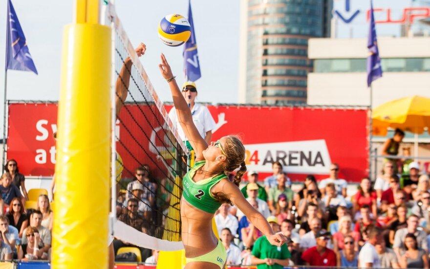 Lietuvės – Europos jaunimo čempionato atkrintamose varžybose
