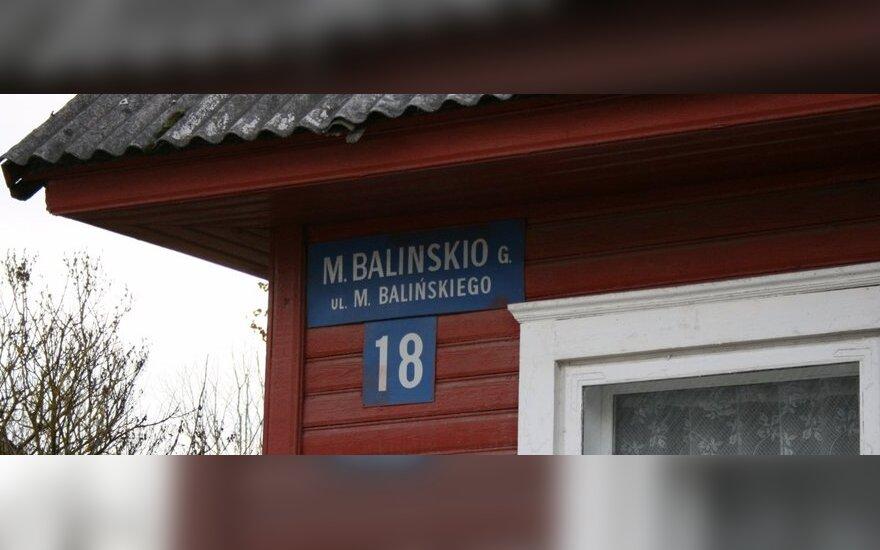 Tautinių mažumų rajonuose siūloma leisti ne tik lietuviškus užrašus