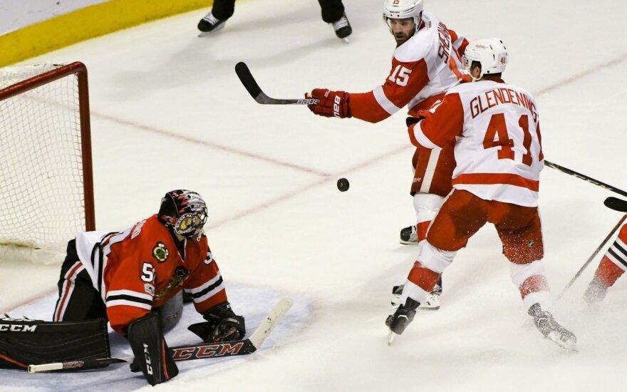 NHL čempionate – ketvirta iš eilės Čikagos klubo pergalė