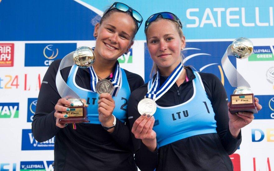Urtė Andriukaitytė ir Irina Zobnina