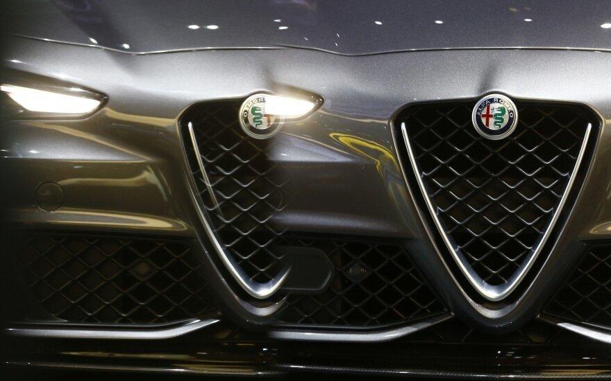 """""""Alfa Romeo"""" pažers sportiškų naujienų"""