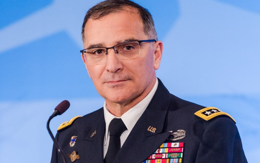 General Curtis M. Scaparrotti, NATO's Supreme Allied Commander Europe