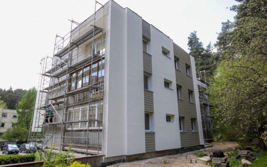 Yra manančių, kad po renovacijos padidėja būsto plotas