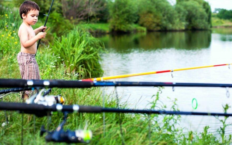Kokią meškerę išrinkti vaikui, kad žvejyba netaptų kančia