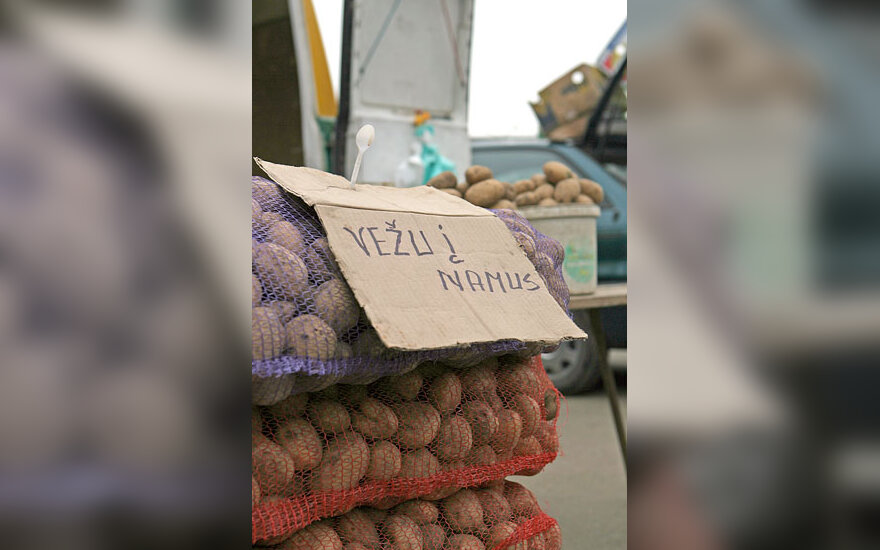 Turgus, bulvės