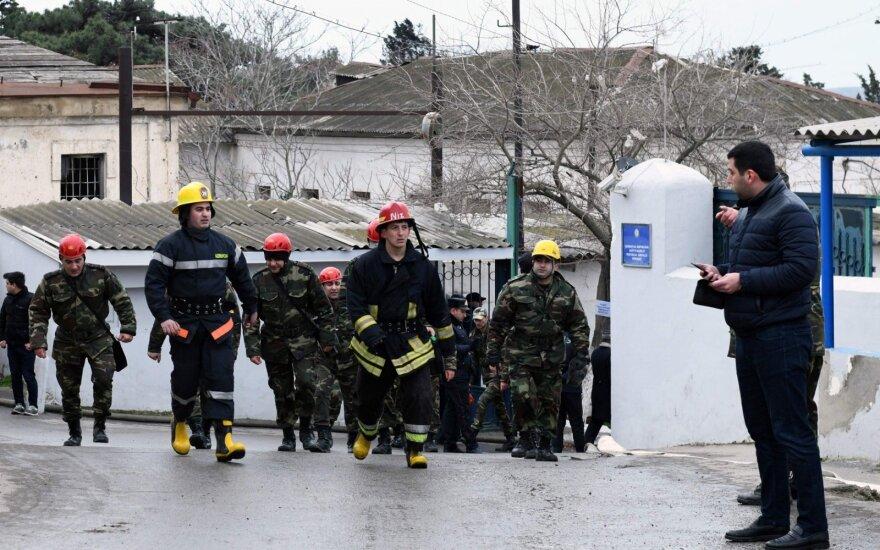 Azerbaidžane per gaisrą narkologiniame centre žuvo mažiausiai 30 žmonių