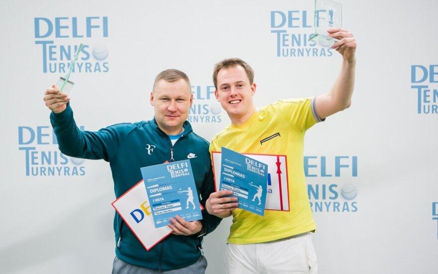 DELFI teniso turnyro apdovanojimai