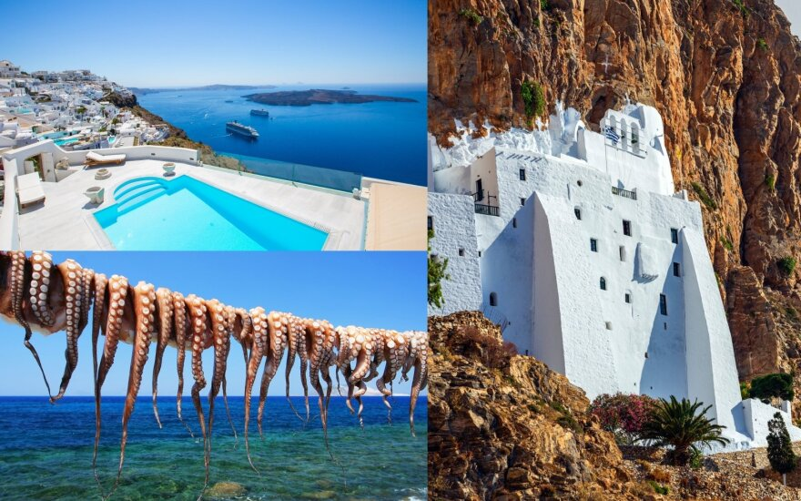 Pasiklydusios jūroje graikiškos atostogos