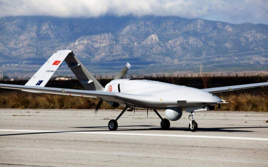 Turkijos kovos dronas