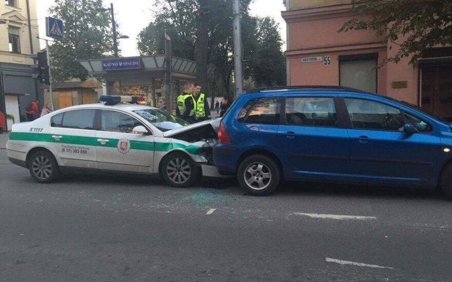 Policijos ekipažui Kaune – nesėkmingas vakaras