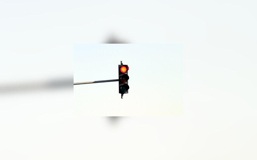 Raudonas šviesoforo signalas