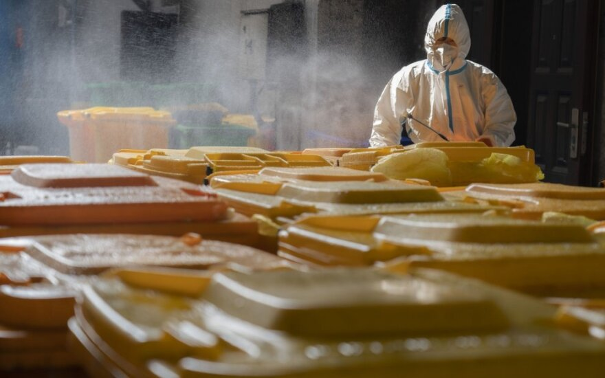 Butane užfiksuotas pirmas užsikrėtimo koronavirusu atvejis