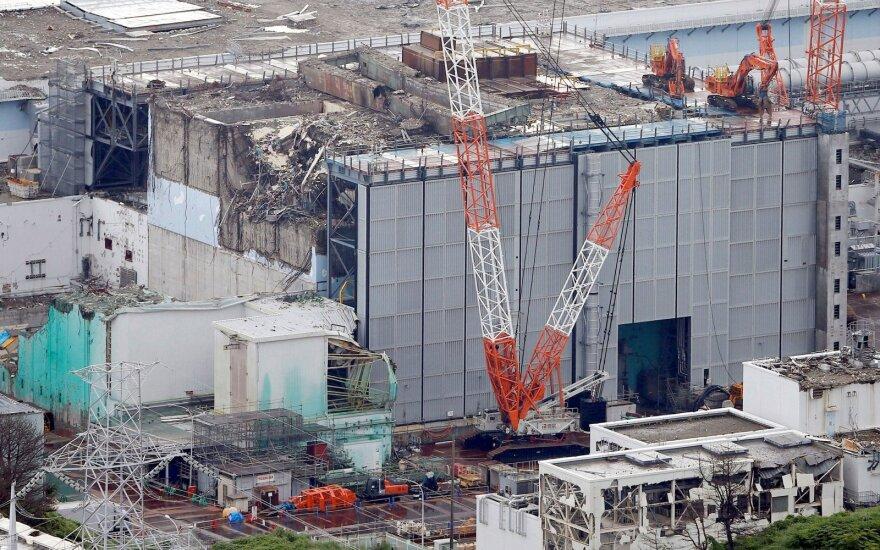 Japonijos Fukušimos elektrinėje robotas tiria radioaktyvų kurą