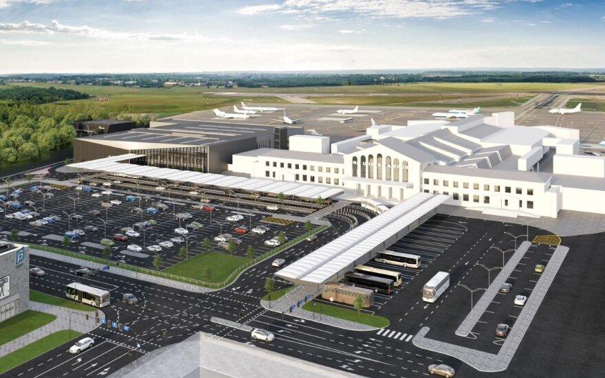 Vilniaus oro uoste – pokyčiai: ruošiamasi naujam terminalui ir privažiavimo tvarkai