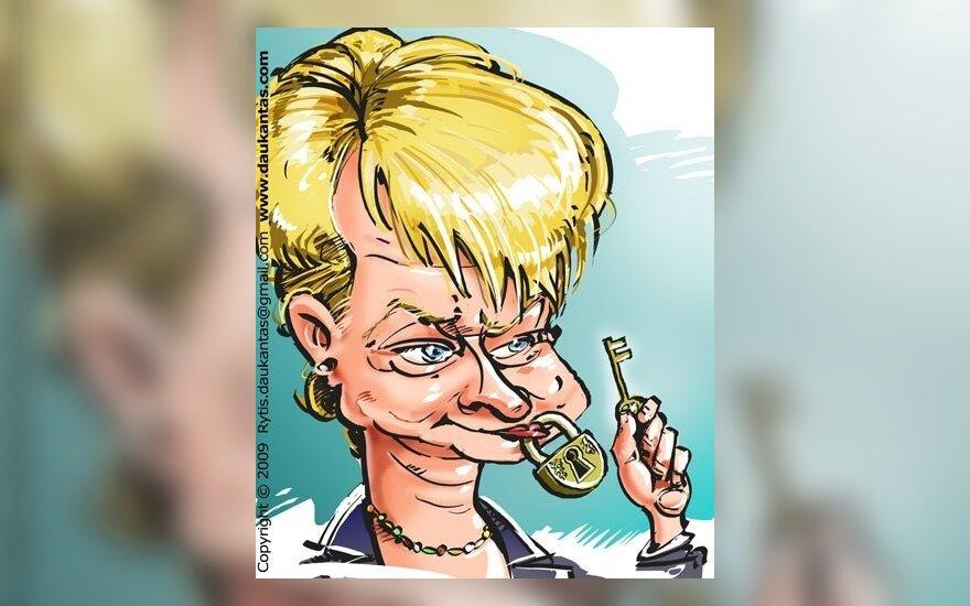 D.Grybauskaitė užsimena apie prezidento algos atsisakymą, kiti kandidatai - už atlyginimo mažinimą