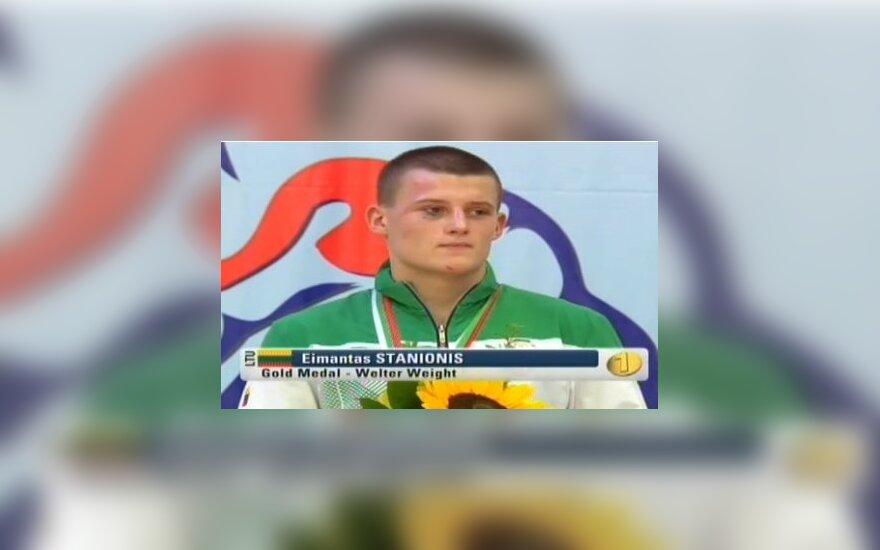 Eimantas Stanionis tapo Europos bokso čempionu