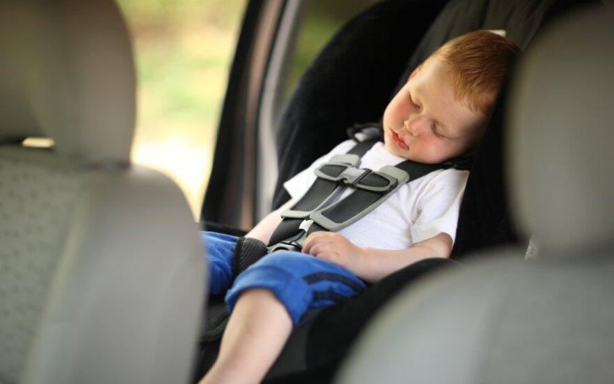 Per karščius atidžiai saugokite mažuosius