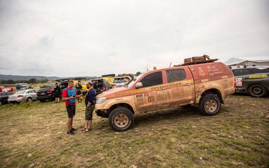Kaip gimsta Dakaro ralio trasos