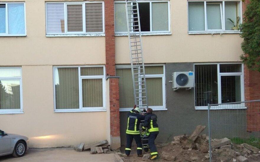 Ugniagesių gelbėtojų pagalba
