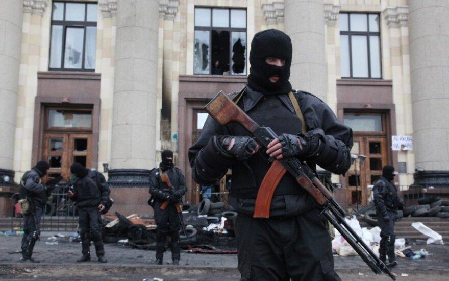 Donecko separatistai naktį rengia naują šturmą