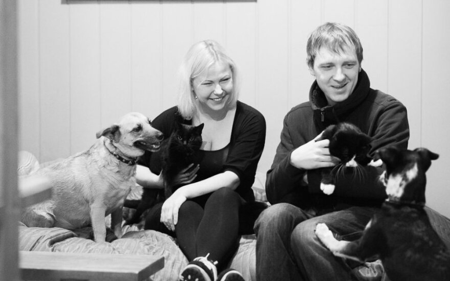 Pavyzdys gyvūnų mylėtojams: 4 augintiniai namuose rado kelią pakeliui į prieglaudą