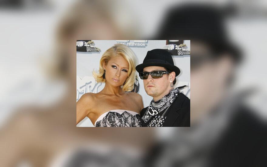 Paris Hilton ir Benji Madden