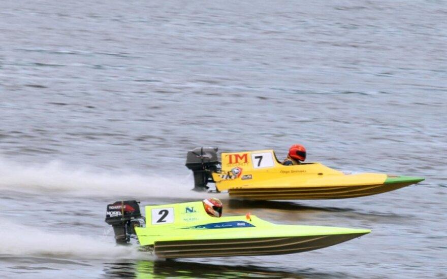 Kaune - motorlaivių sporto Baltijos šalių čempionatas