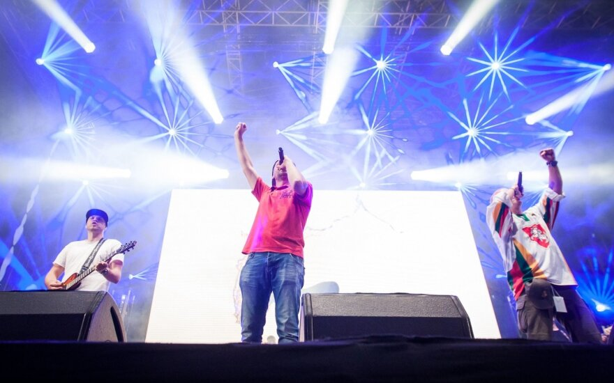 G&G Sindikato koncertas Katedros aikštėje