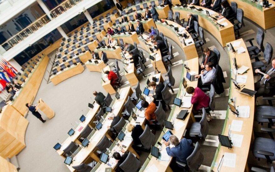 D. Raudonienė vadovaus Seimo kanceliarijai