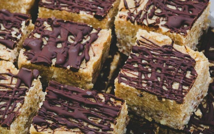 Vegetariškas pirmadienis: riešutų ir datulių sausainiai