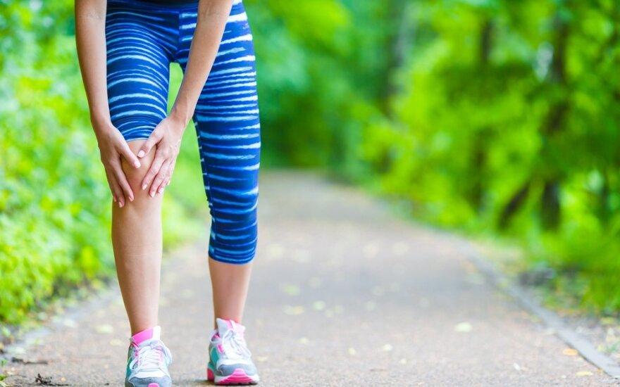 Kaip natūraliais metodais sumažinti sąnarių skausmą