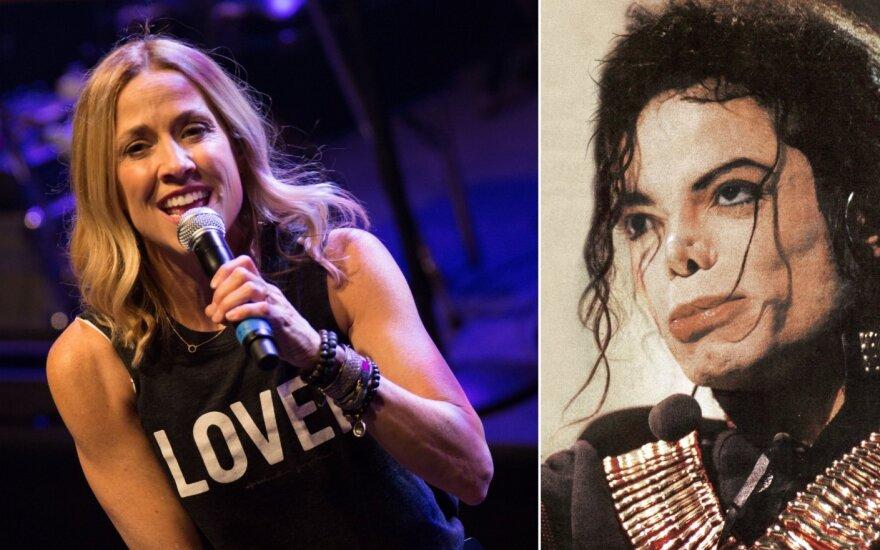 Sheryl Crow ir Michaelas Jacksonas