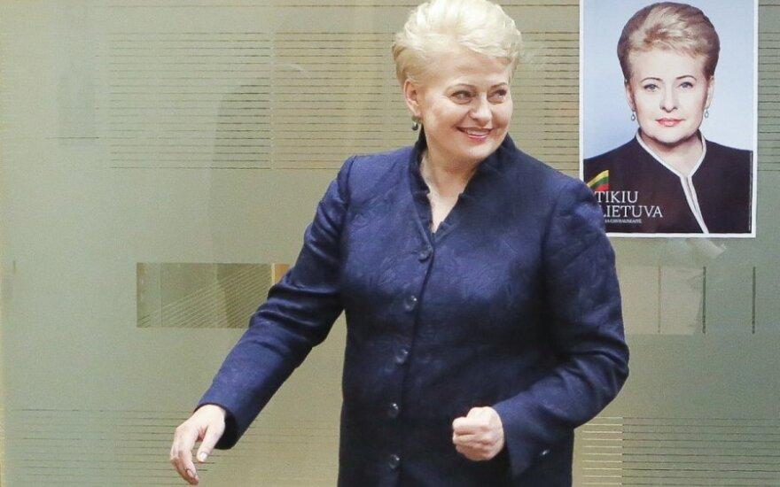 D. Grybauskaitė bandys paneigti du mitus apie save