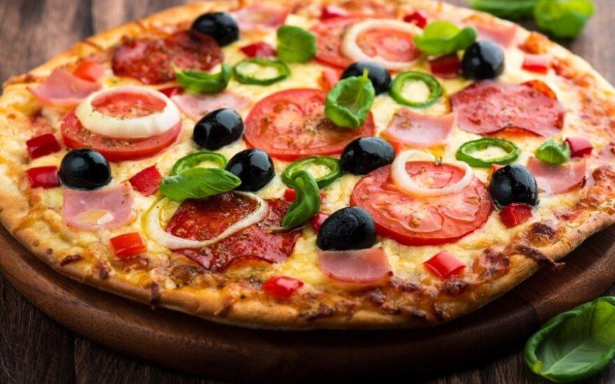 Greitai paruošiama naminė pica